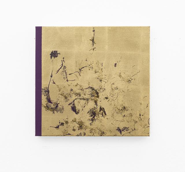 , 'Big hair orchid sweat print, violet scape,' 2018, SMAC