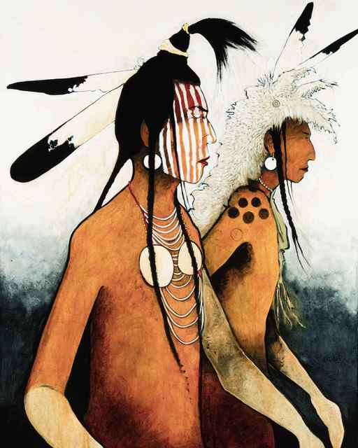 , ' Crow Indian Warriors,' , Sorrel Sky Gallery