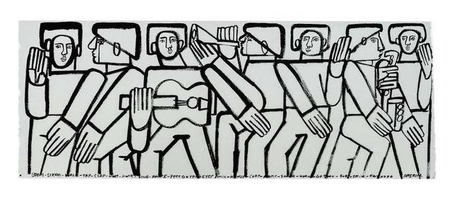 , 'Men & Music,' 2019, Wally Workman Gallery