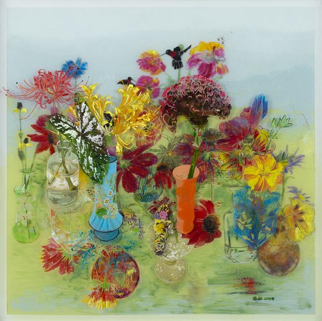 , 'Hummingbird Garden,' 2019, Valley House Gallery & Sculpture Garden