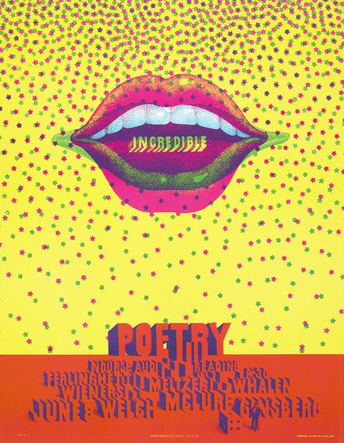 , 'Incredible Poetry,' 1968, de Young Museum
