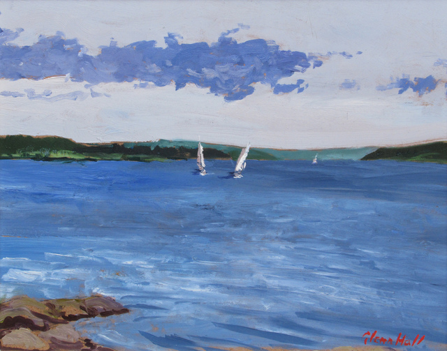 Glenn Hall, 'Sailboats', 2018, Gallery 78