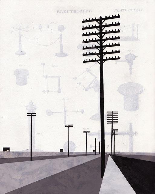 , 'Telephone Poles #1,' 2011, KOKI ARTS