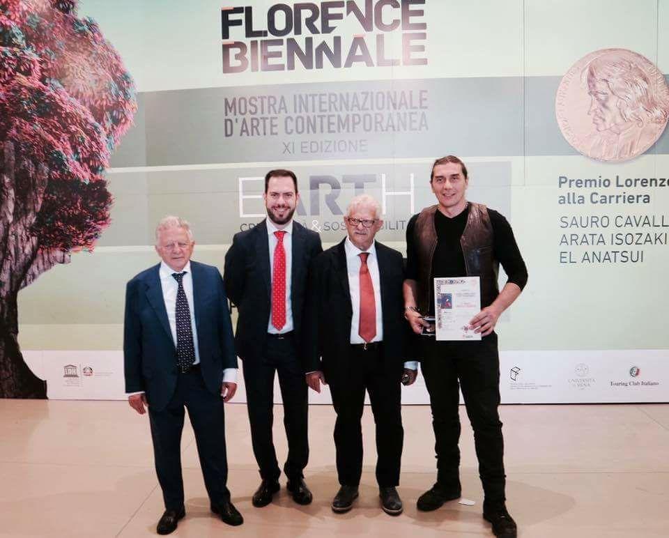 Marco Guglielmi Reimmortal wins the 5th Award Cat. Installation. XI Biennale di Firenze 2017 | XIth Florence Biennale  October 06, 2017 - October 15, 2017
