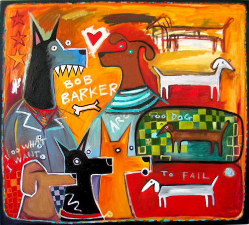 , 'Too Dog to Fail ,' 2014, Zenith Gallery