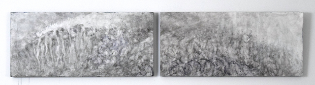 , 'Refugee Nightmares (Diptych),' 2015, Fountain House Gallery