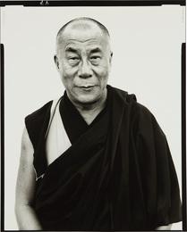 His Holiness The Dalai Lama, Kamataka, India, January, 1998