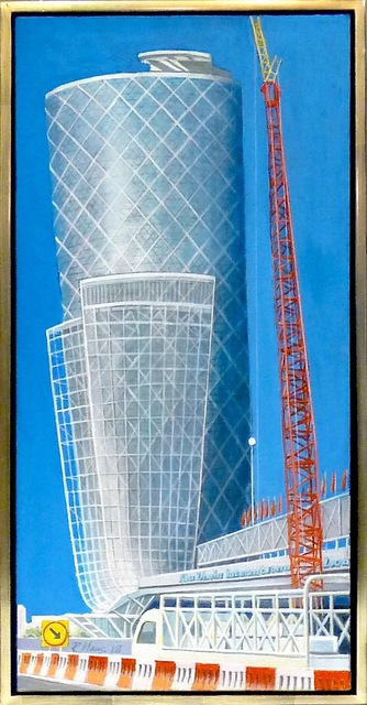 Richard Haas, 'Hotel in Abu Dhabi', 2012, Alpha 137 Gallery