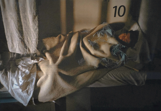 , 'Sleepy Bed (Amsterdam Hostel 1),' 2014, Blindspot Gallery