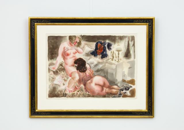 , 'Erotische Szene (Erotic Scene),' 1927, Hagemeier