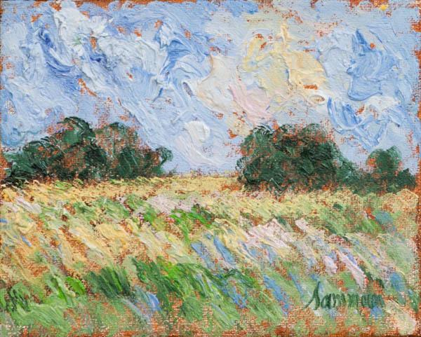 , 'Field, Laprairie, Study,' 2018, Galerie d'Orsay