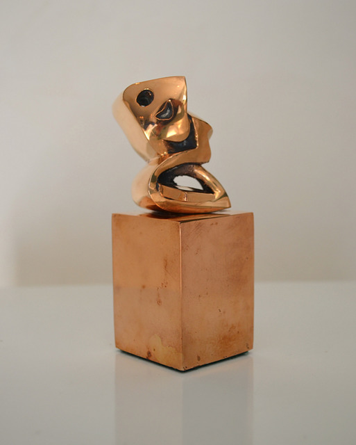 , 'Bronze Heech,' 2002, Fondation Behnam-Bakhtiar