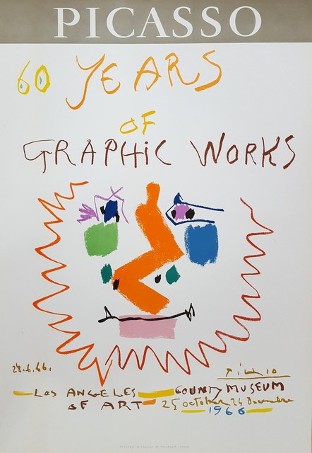 Pablo Picasso, '60 Years of Graphic Works: LACMA', 1966, Graves International Art