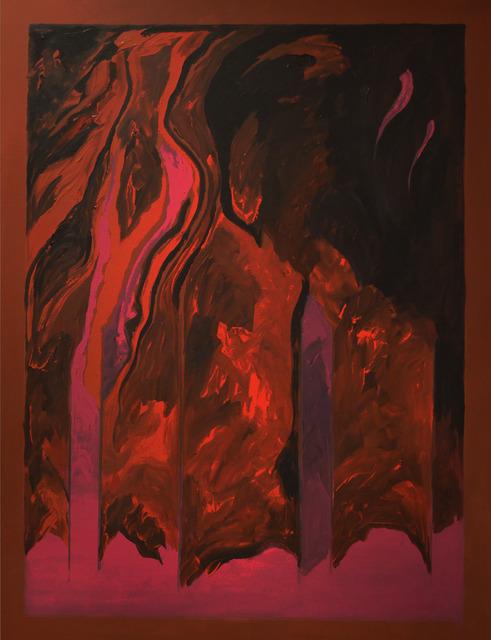 , 'Firefall,' 2015, Anita Shapolsky Gallery