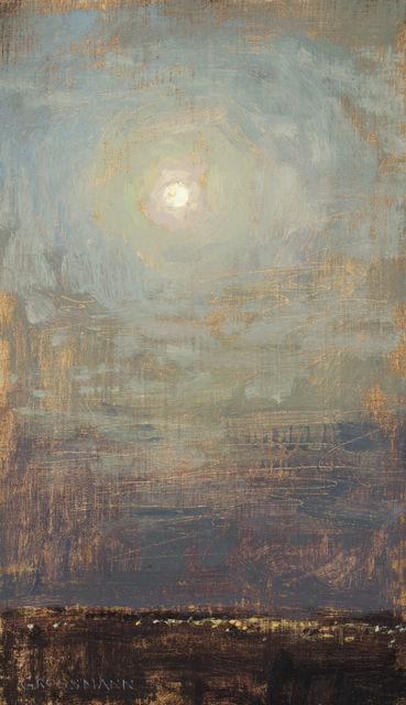 , 'Moon and City Lights,' 2010-2015, Gallery 1261