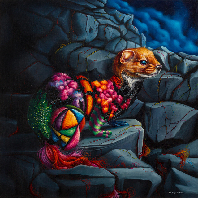 , 'Roots,' , Corey Helford Gallery