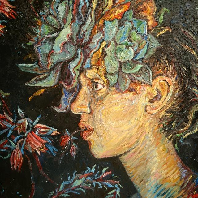 Charlene Mosley, 'Flora', 2017, Gormleys Fine Art