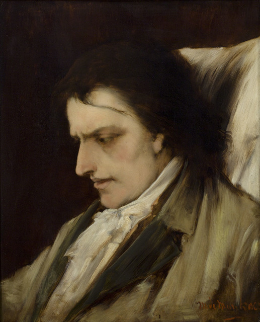 Mihály Munkácsy, 'Study for the Death of Mozart', 1884, Frye Art Museum