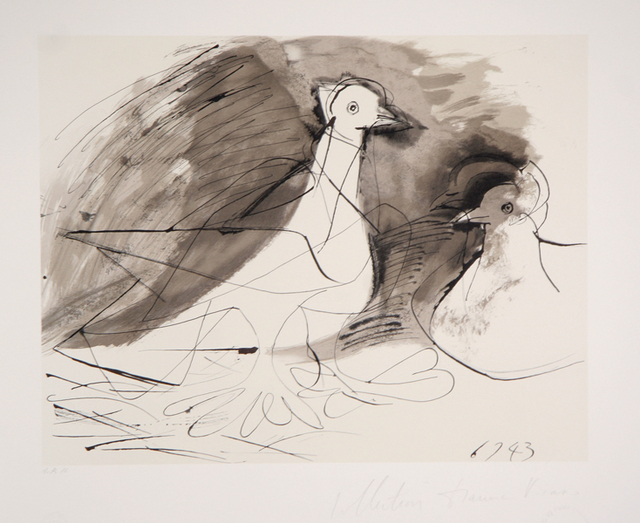 Pablo Picasso, 'Pigeons, 1943', 1979-1982, Print, Lithograph on Arches paper, RoGallery