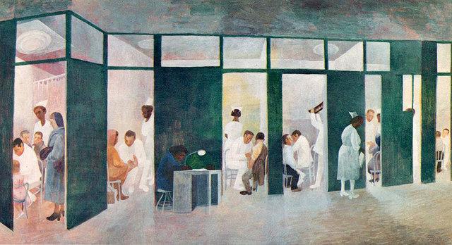 , 'Hospital Corridor,' 1961, Anna Zorina Gallery