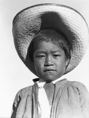, 'Niño con sombrero,' ca. 1927, Galeria Enrique Guerrero