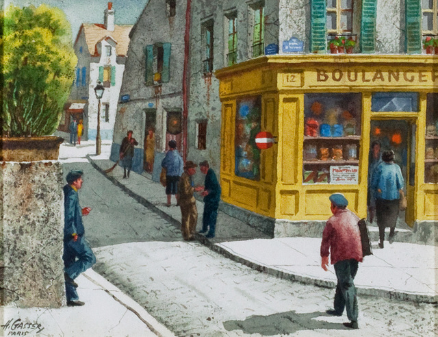 , 'Saturday Morning, Montmartre,' , Questroyal Fine Art