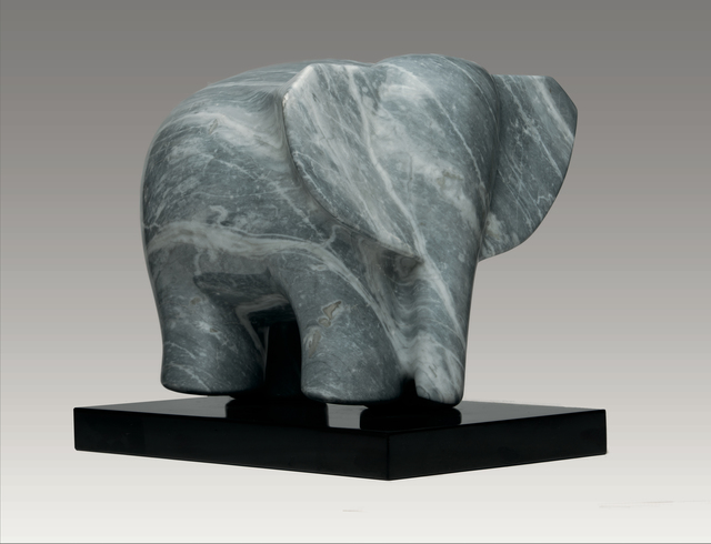 , 'African Elephant,' , Robert Hooke Sculpture Gallery