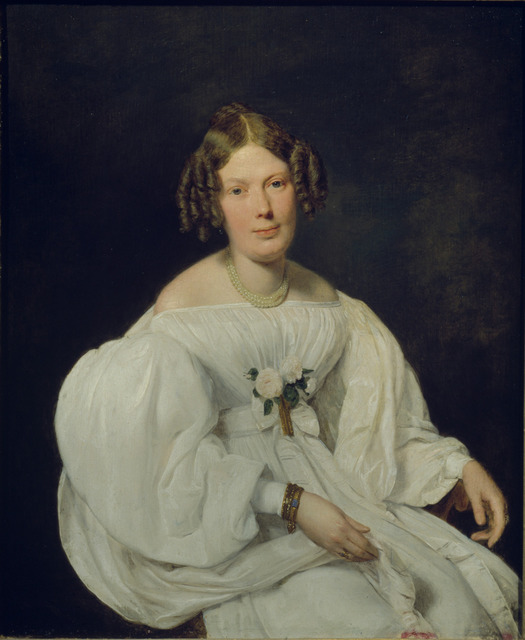 , 'Portrait of Schaumberg's Wife,' 1846, The National Gallery, London