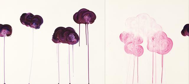 , 'Purple Cloud Beings,' 2017, Cole Pratt Gallery