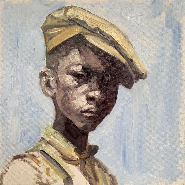 , 'Dustbowl Portrait XI,' 2019, Turner Carroll Gallery