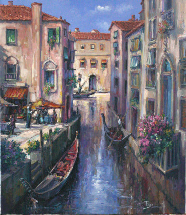 , 'Evening in Venice,' , The Loft Fine Art
