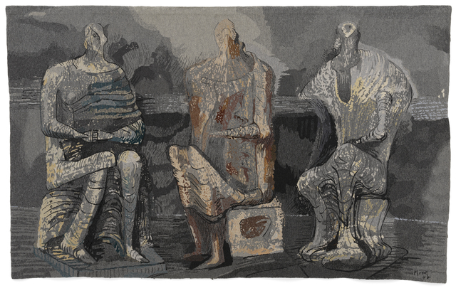 , 'Three Seated Figures,' 1974, New Art Centre