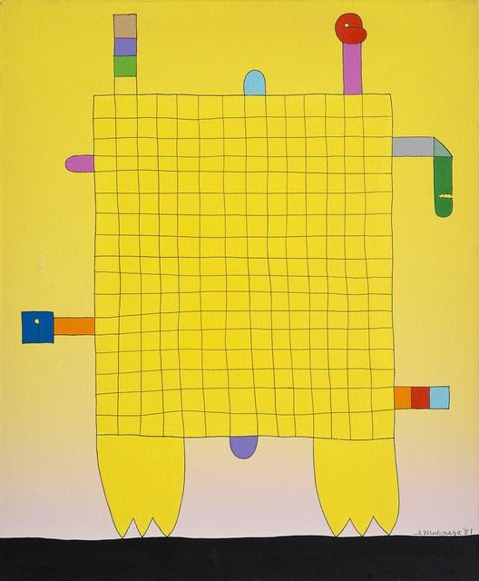 , 'Yellow Amime ,' 1981, De Primi Fine Art