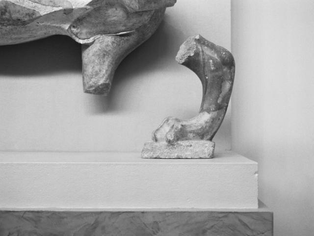 , 'Lion, fronton oriental du temple archaïque d'Apollon, 510-500 av. J.-C., Musée de Delphes,' 2018, PARISIAN LAUNDRY