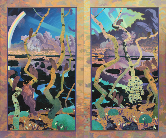 , 'Diptych (Untitled),' 1974, Alexandre Gallery