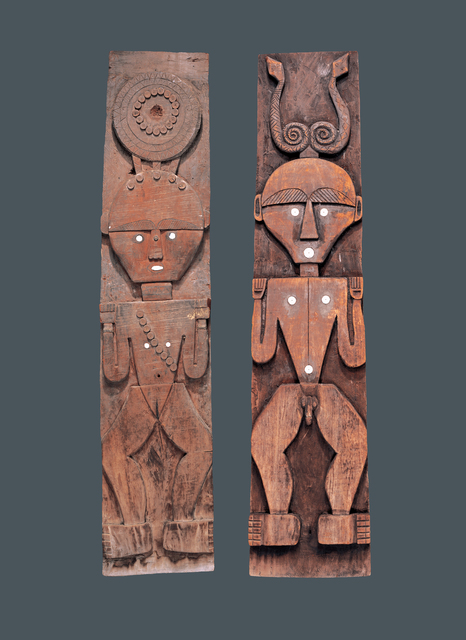 , 'Architectural Panels,' Early 20th century, Fowler Museum at UCLA