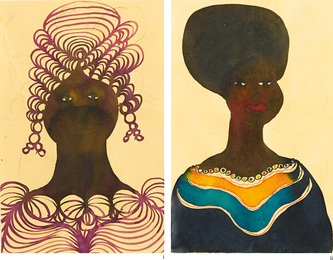 Chris Ofili, 'i. Untitled; ii. Untitled [Two Works],' 1998, Sotheby's: Contemporary Art Day Auction