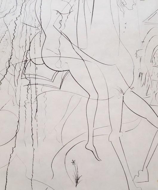 Salvador Dalí, 'Lady Godiva', 1969, Print, Drypoint Etching, Graves International Art