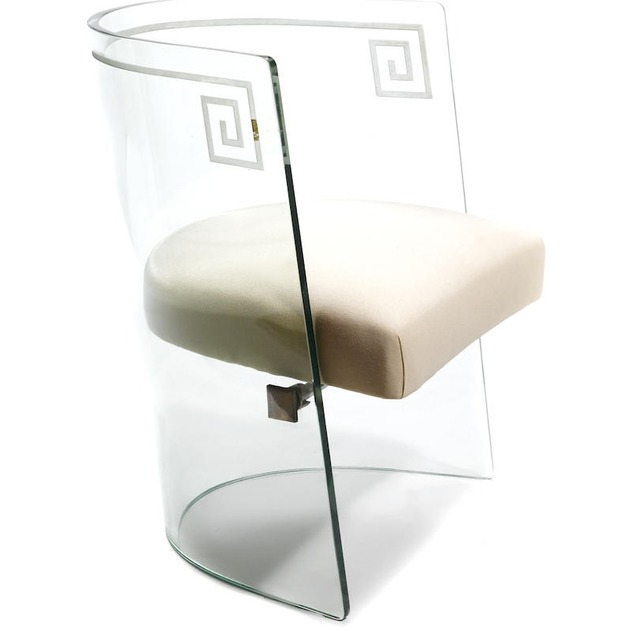 , 'Etched Glass Chair,' ca. 1939, Mark McDonald