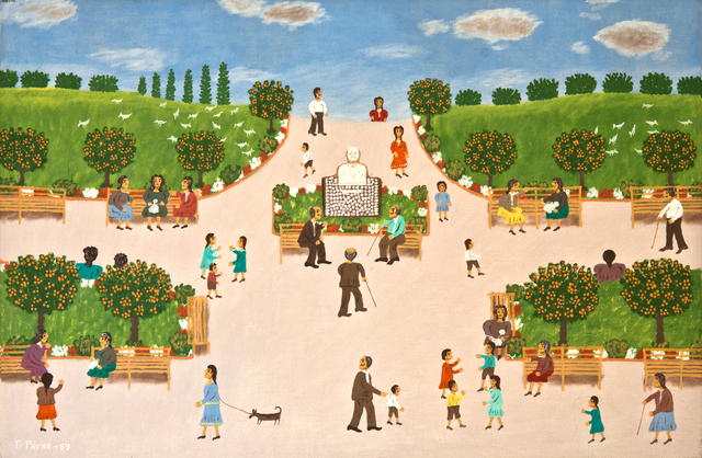 , 'At the Park,' 1989, C. Grimaldis Gallery