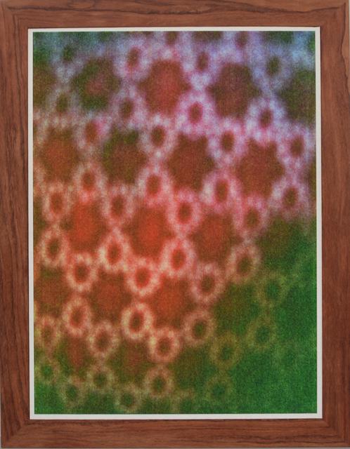 , 'African Textiles # 2 Red,' 2014, Tatjana Pieters