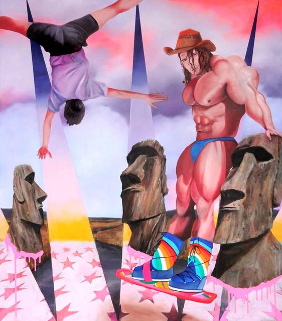, 'Moai Cruising,' 2015, Gallery Poulsen