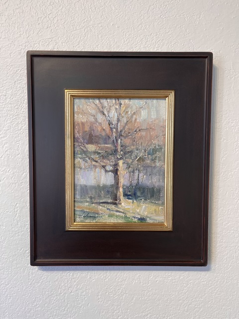Carolyn Anderson, 'New Harmony Tree', 2015-2016, Painting, Oil, Gallery 1261