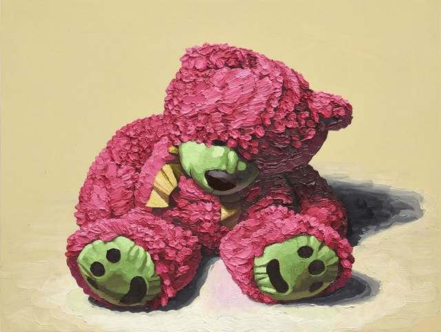 , 'Pink Bear Green Paws,' 2018, Mugello Gallery