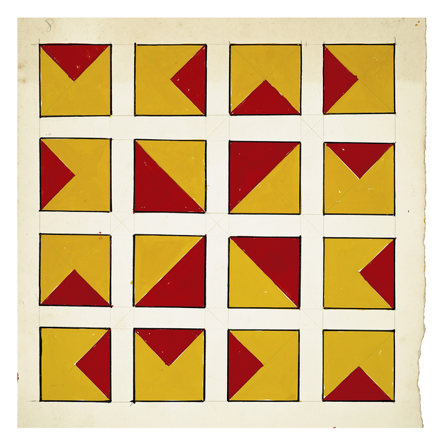 Norberto Puzzolo, 'Untitled 8', 1967, Painting, Ink and tempera on panel, Henrique Faria Fine Art