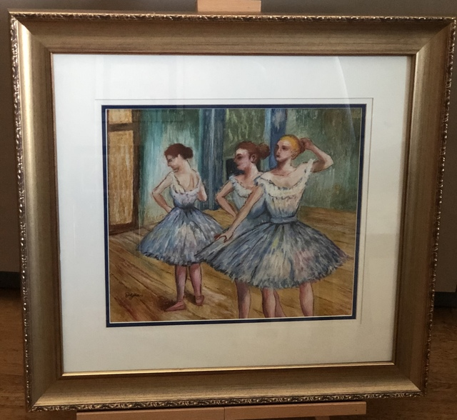 Edgar Degas, 'Ballet Dancers-Pastel on Paper', Unknown, Leviton Fine Art