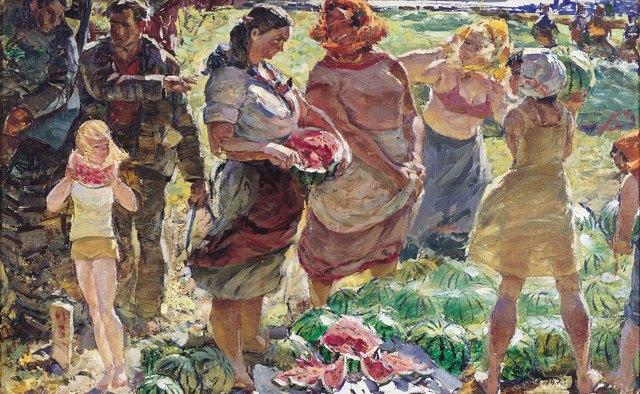 Viktor Petrovich Patrin, 'The watermelons orchard', 1973, Surikov Foundation