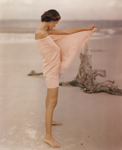 , 'Carol McCarlson on the Beach, St. Augustine Florida,' 1948, Howard Greenberg Gallery