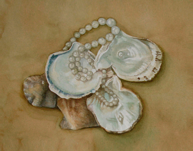 , 'Pearls from Oysters,' 2013, InLiquid