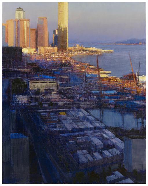 , 'Harbour, Dusk,' 2015, John Martin Gallery